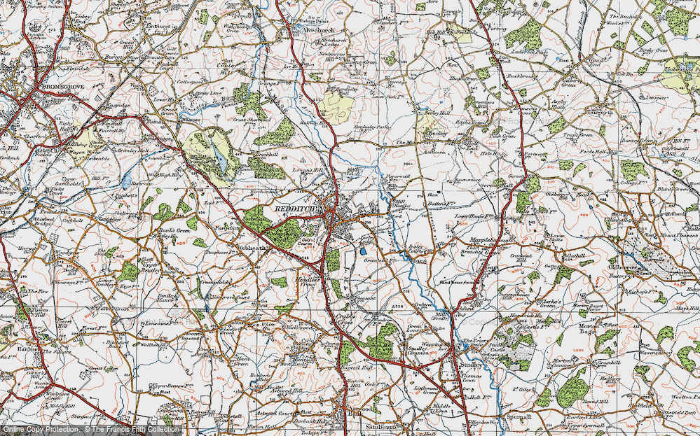 Old Maps of Redditch Francis Frith
