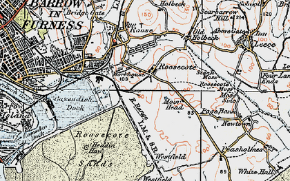 Old map of Westfield Point in 1924