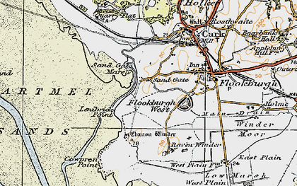 Old map of Lenibrick Point in 1925