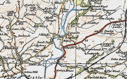 Old map of Lawson Ho in 1924