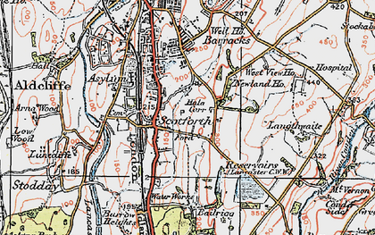 Old map of West View in 1924