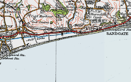 Old map of Seabrook in 1920