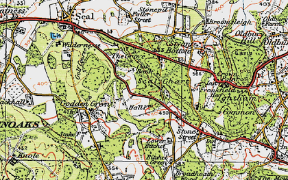 Old map of Seal Chart in 1920
