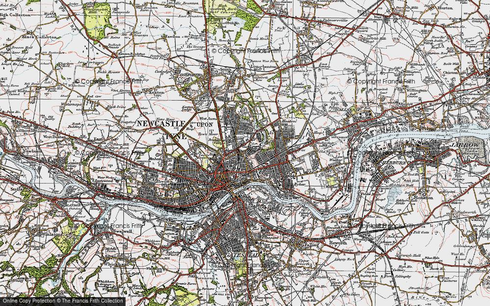 Shieldfield, 1925