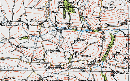 Old map of Skewes in 1919