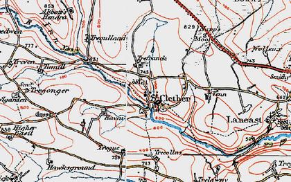 Old map of Woolgarden in 1919