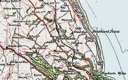 Old map of Island, The in 1925