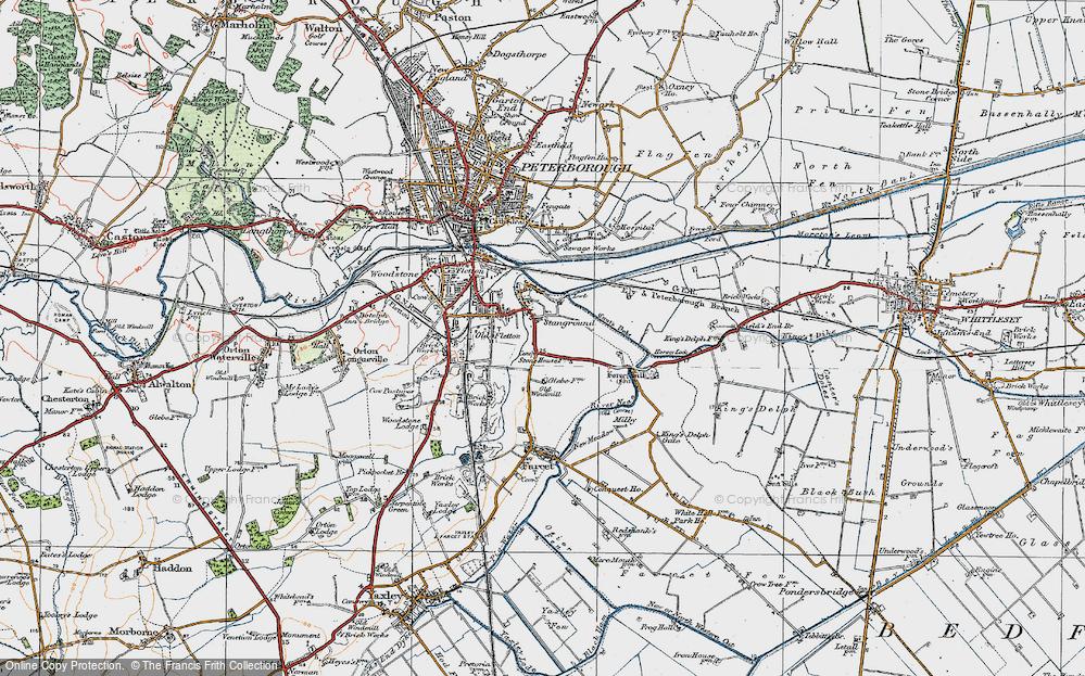 Stanground, 1922
