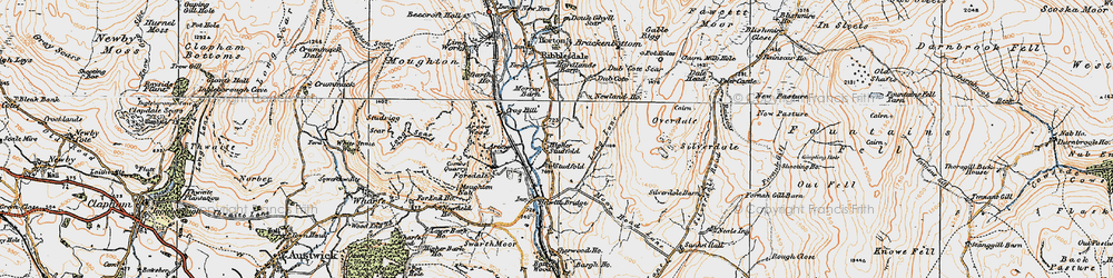Old map of Arcow Quarry in 1924