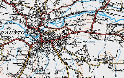 Taunton photos maps books memories Francis Frith