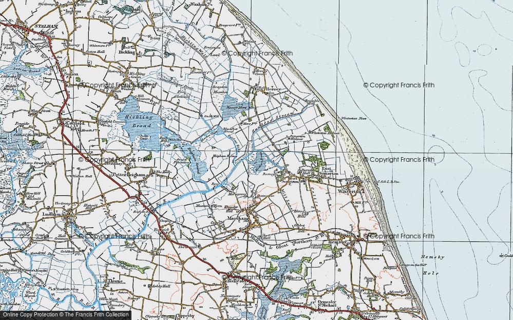The Norfolk Broads, 1922
