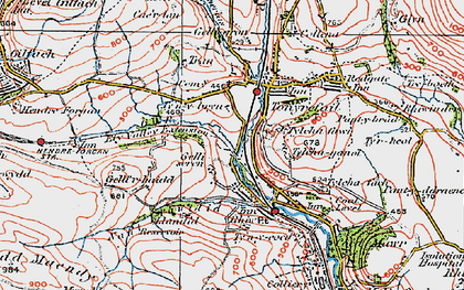 Old map of Thomastown in 1922