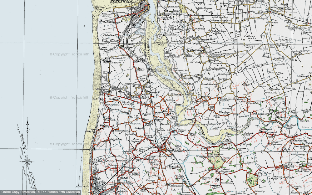 Old Maps of Thornton Francis Frith