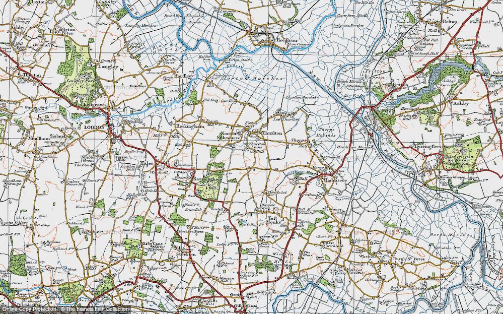 Thurlton Links, 1922