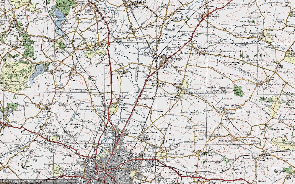 Thurmaston, 1921