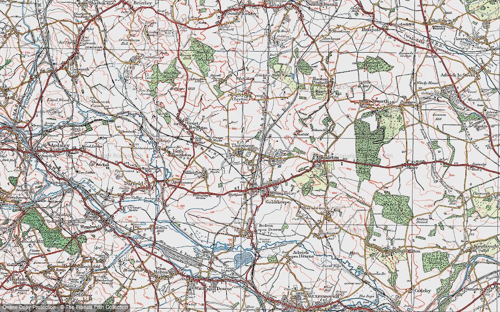 Thurnscoe, 1924