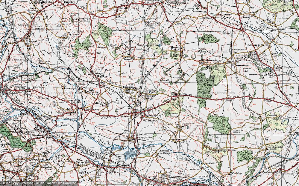 Thurnscoe East, 1924