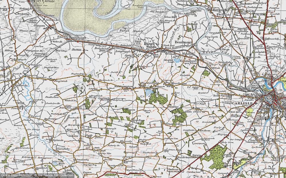 Thurstonfield, 1925