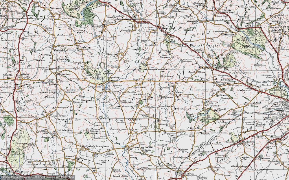 Thurvaston, 1921