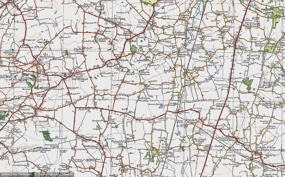 Tibenham, 1921