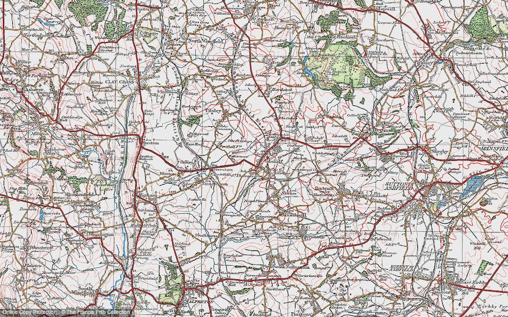 Tibshelf, 1923