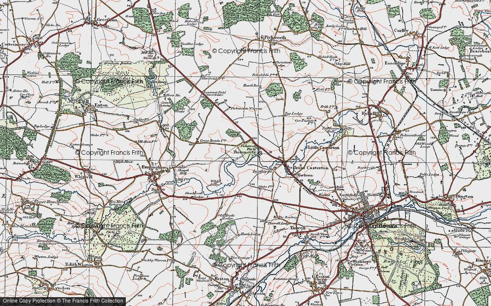 Tickencote, 1922