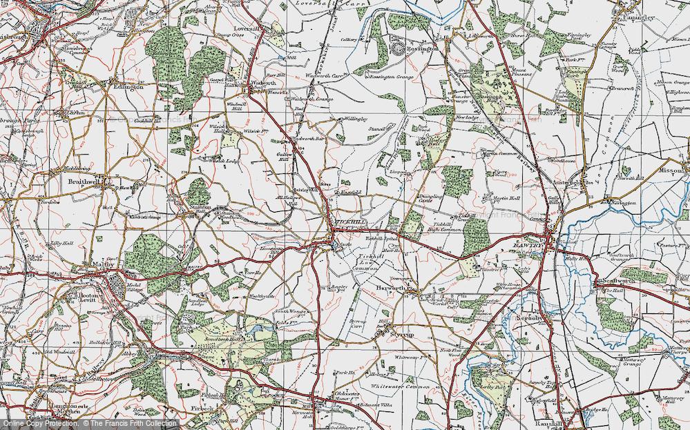 Tickhill, 1923