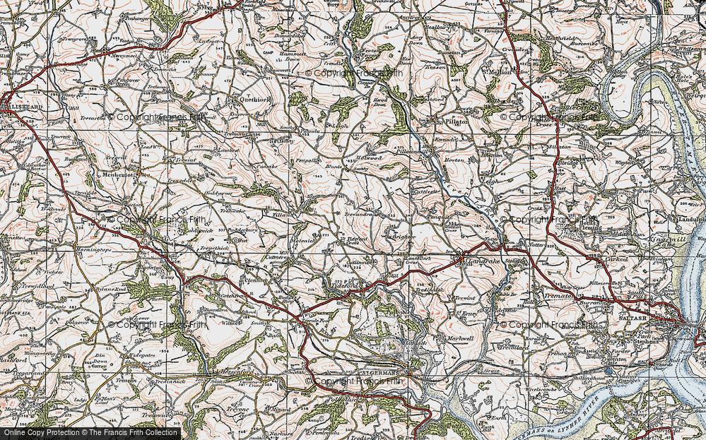 Tideford Cross, 1919