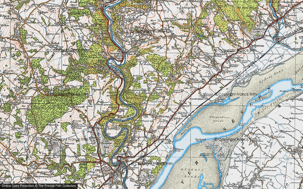 Tidenham Chase, 1919