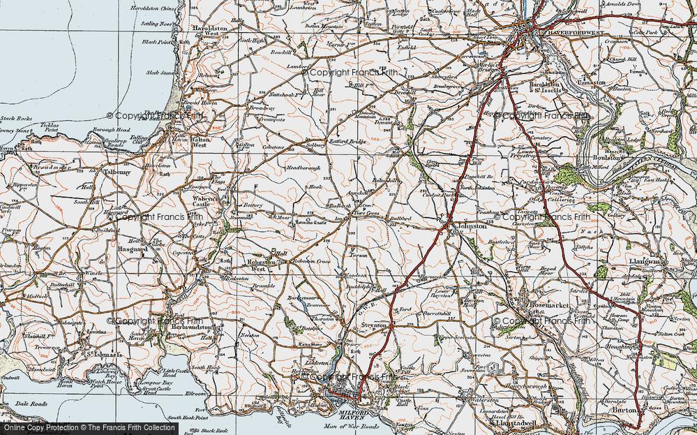 Tiers Cross, 1922