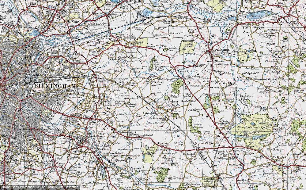 Tile Cross, 1921