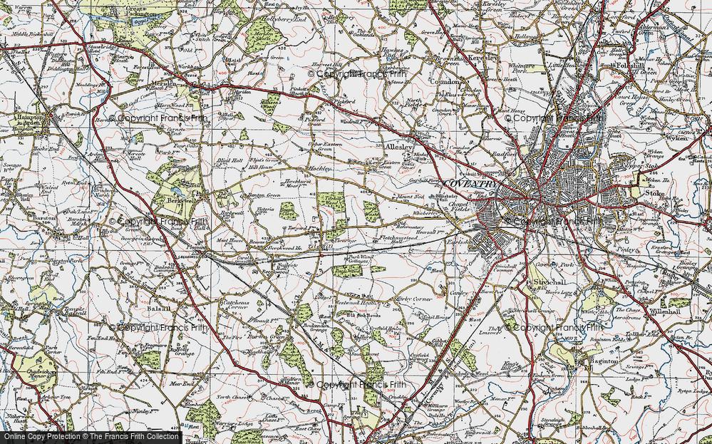 Tile Hill, 1921