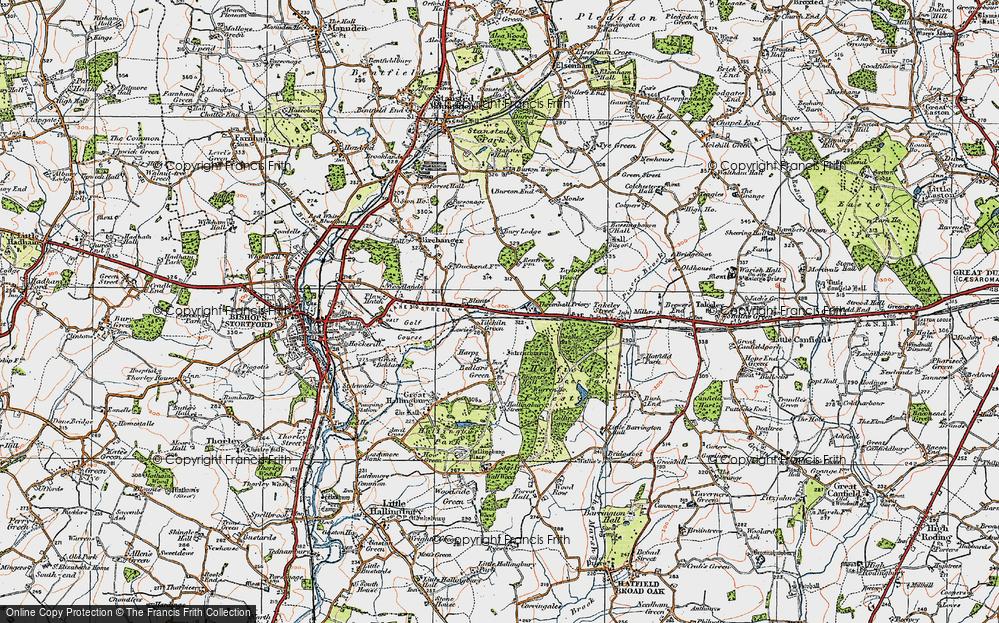 Tilekiln Green, 1919
