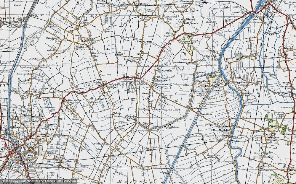 Tilney St Lawrence, 1922