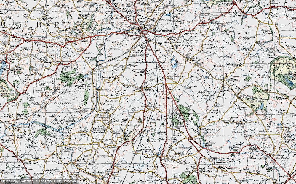Tilstock, 1921