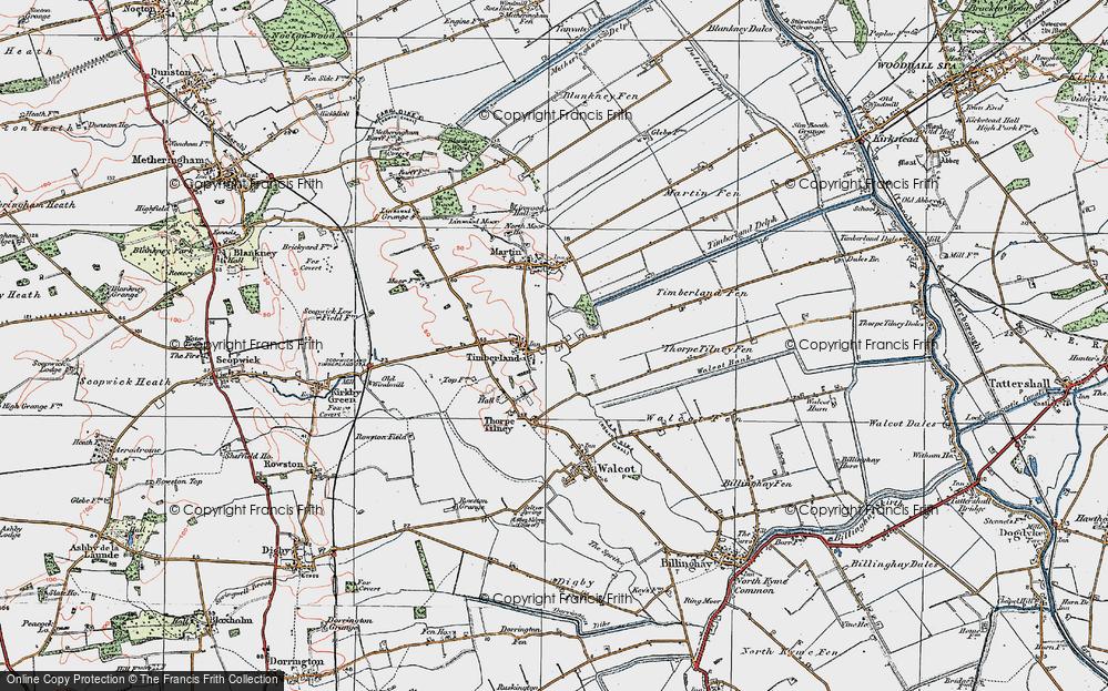Timberland, 1923