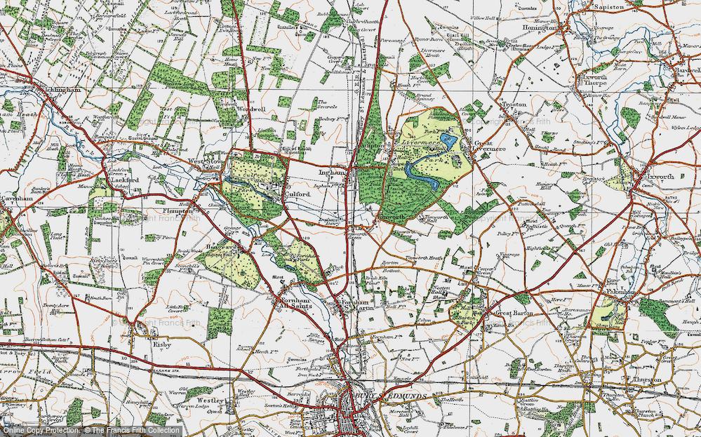 Timworth Green, 1920