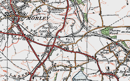 Old map of Tingley in 1925