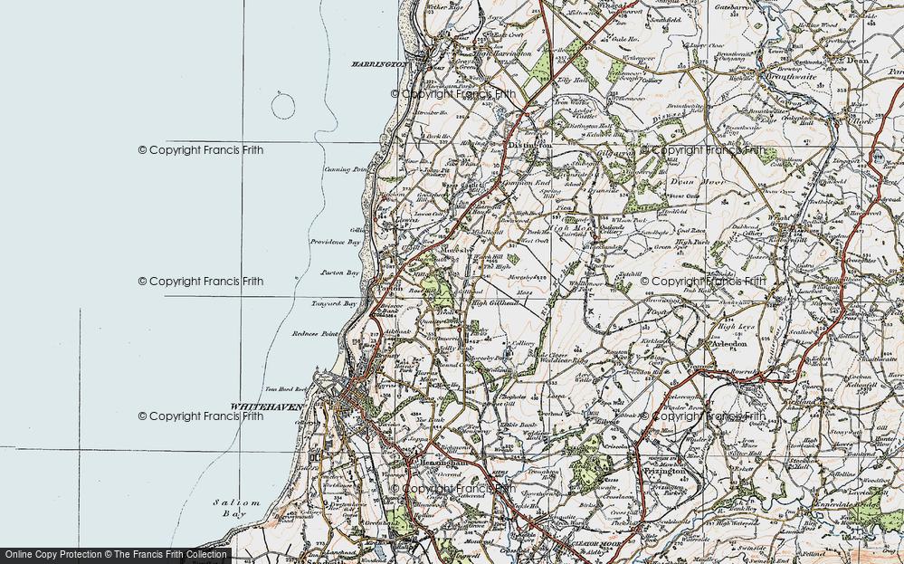 Old Map of Tivoli, 1925 in 1925
