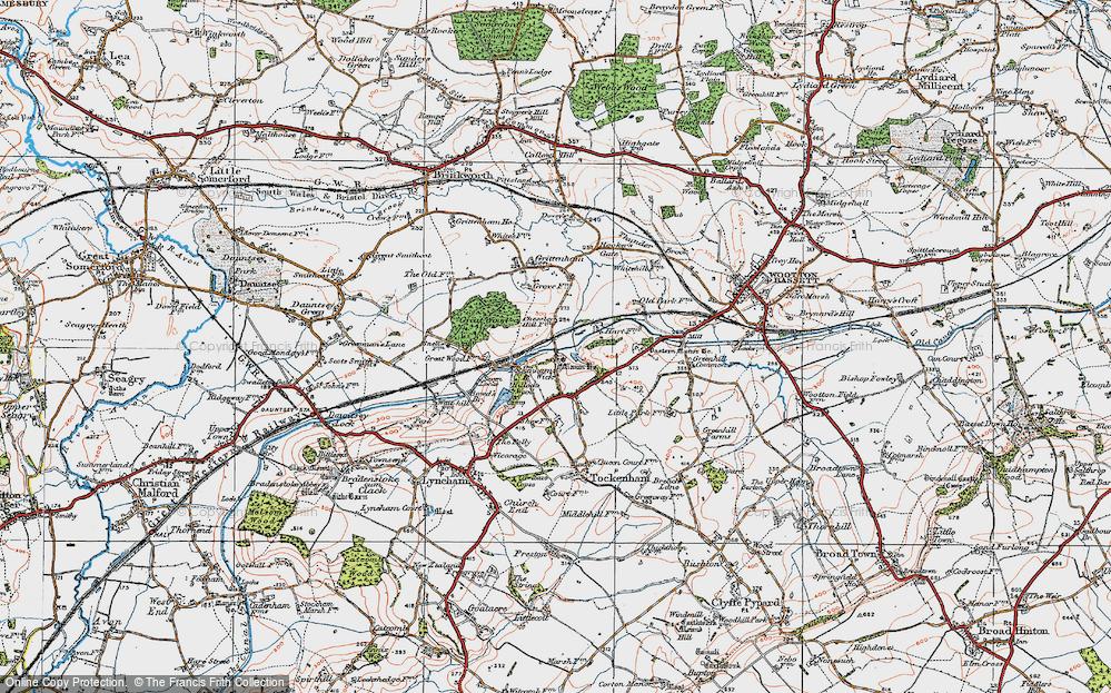 Tockenham Wick, 1919