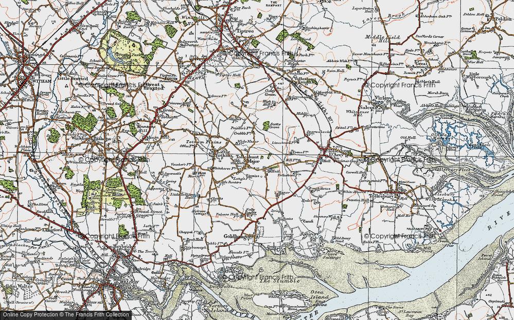 Tolleshunt Major, 1921