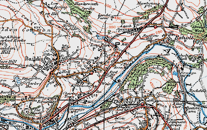 Old map of Tong Park in 1925