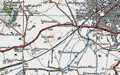 Old map of Toothill in 1919