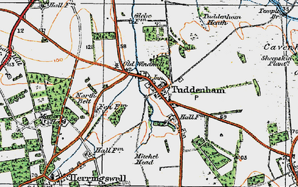 Old map of Woodsway Stud in 1920