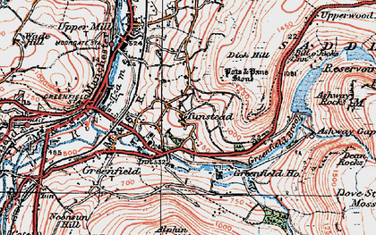Old map of Alderman's Hill in 1924