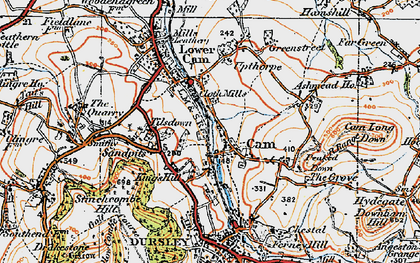 Old map of Upper Cam in 1919
