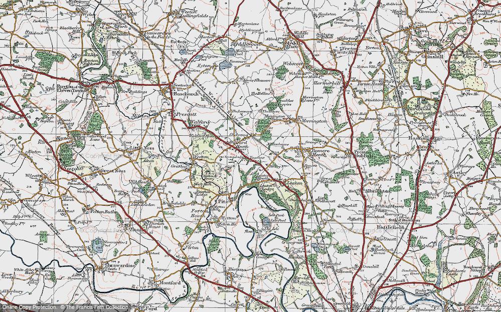 Walford Heath, 1921