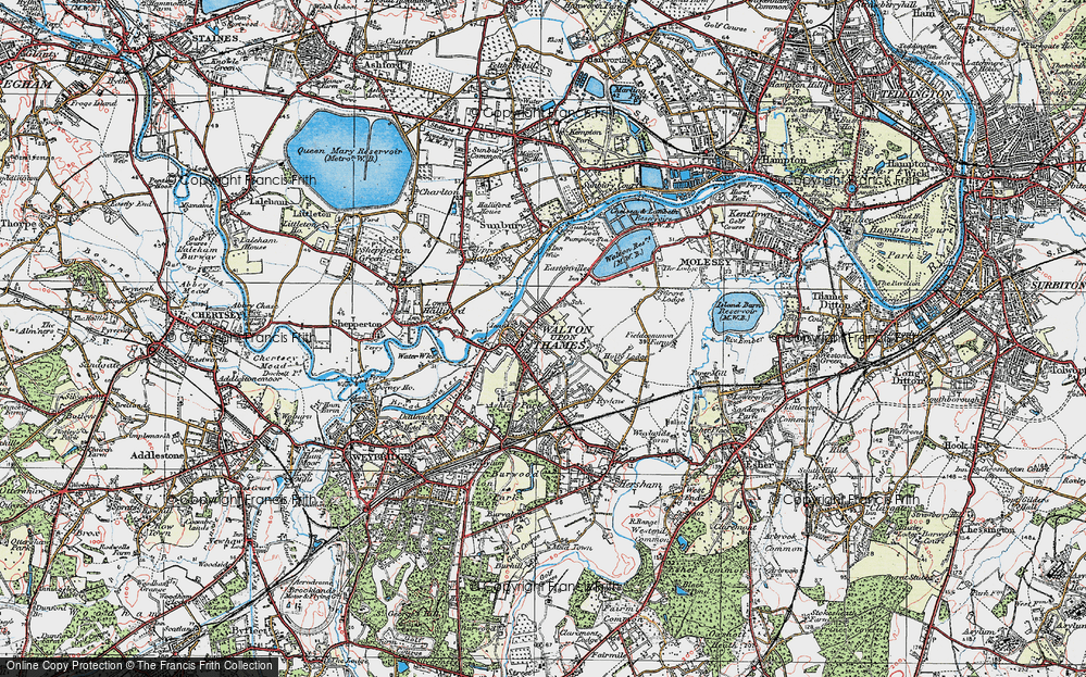 Walton-on-Thames, 1920