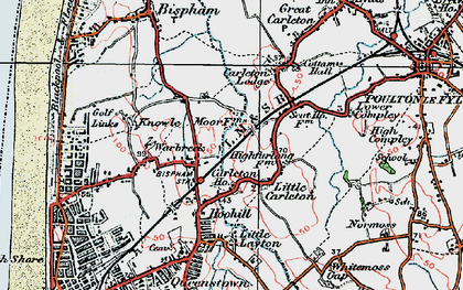 Old map of Layton Sta in 1924