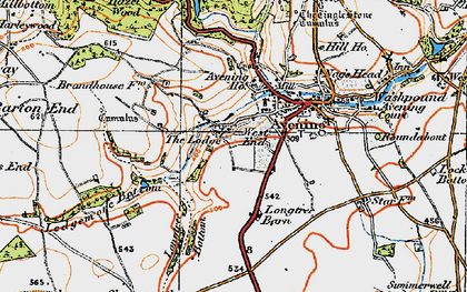 Old map of Avening Park in 1919